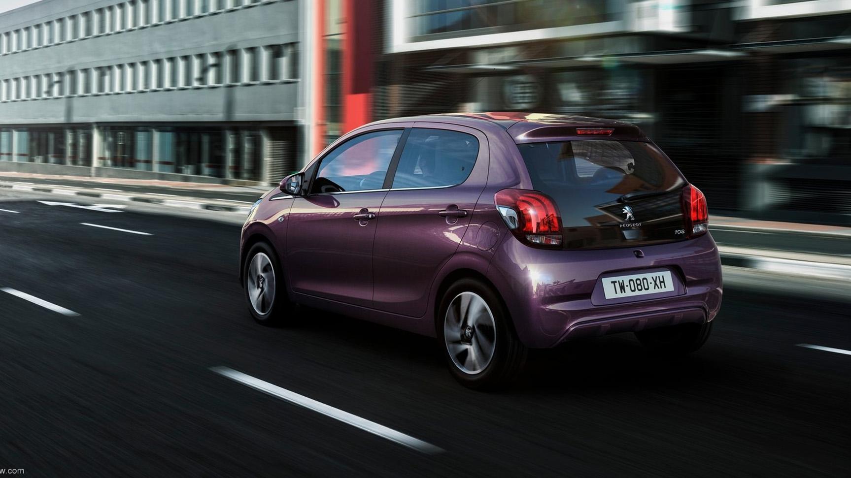 Video impressie Peugeot 108