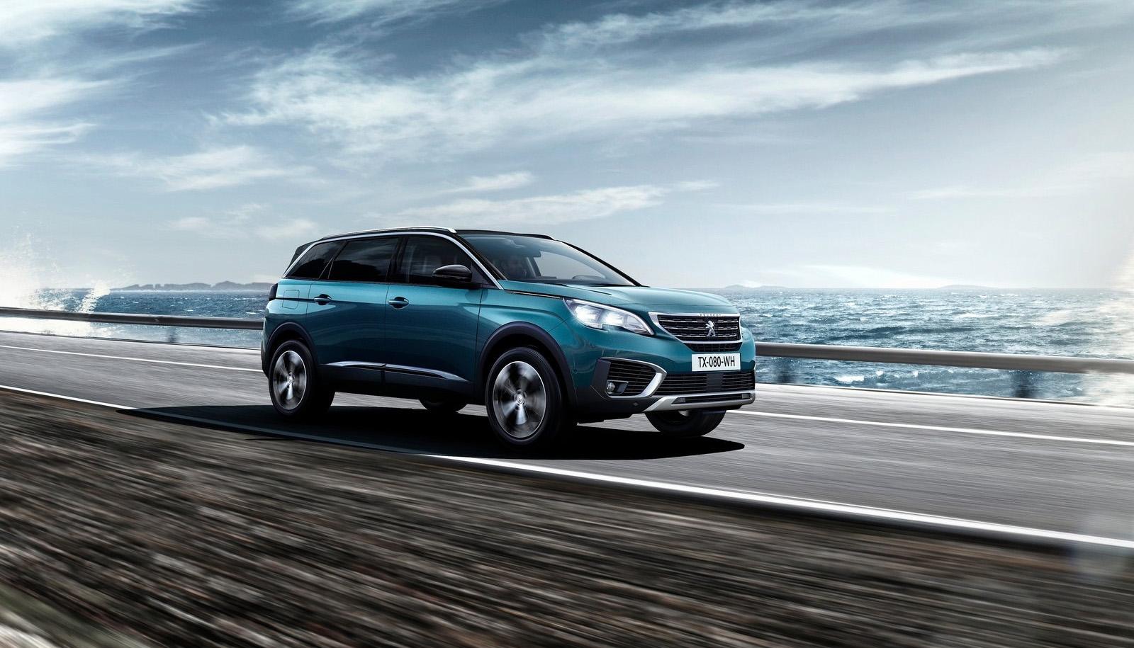 Video impressie Peugeot 5008